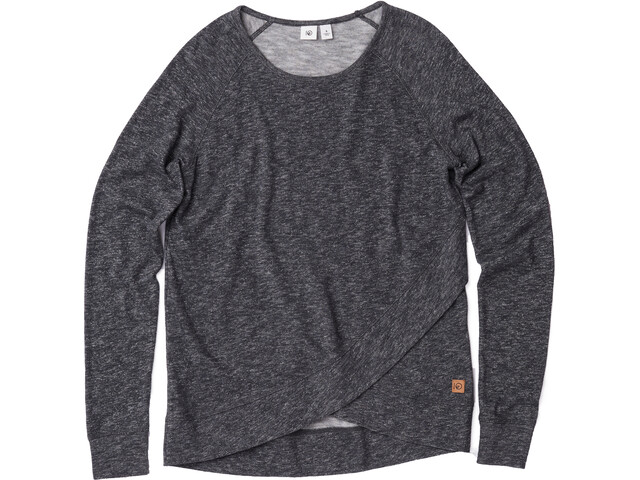 tentree Acre T-shirt à manches longues Femme, meteorite black